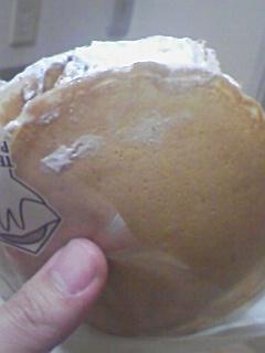 手軽にパンケーキ ティラミス