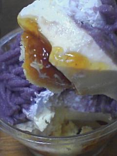 紫芋のモンブラン@ファミマ